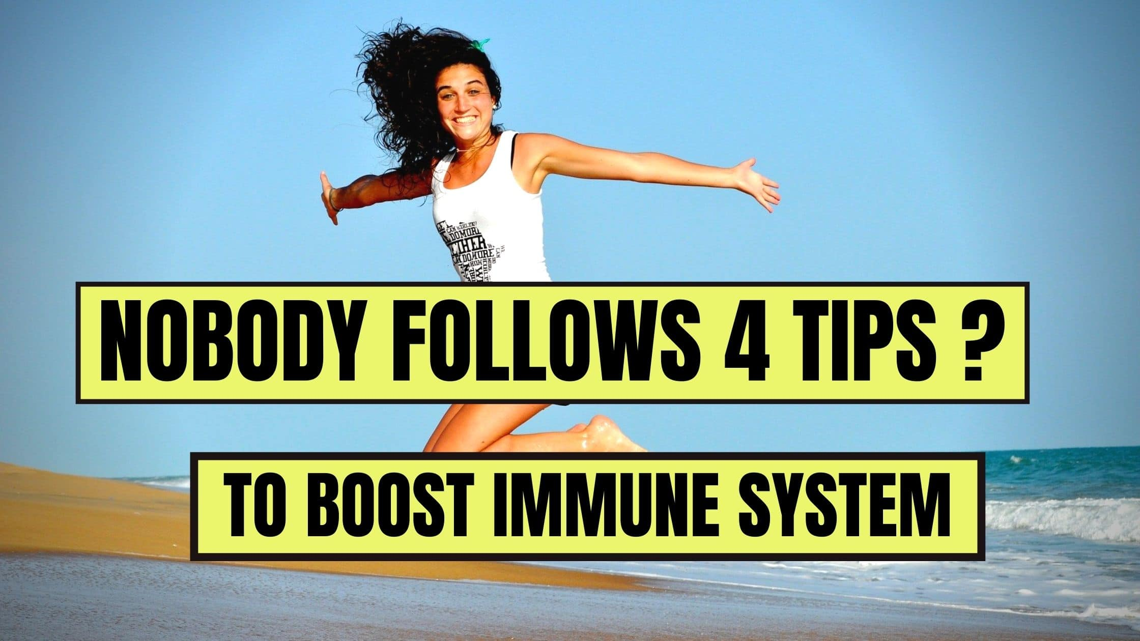 Nobody Follows This Tips To Boost Immune System(2021)