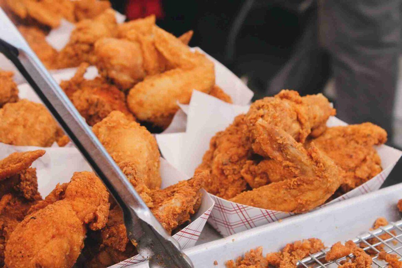 how much protein in chicken