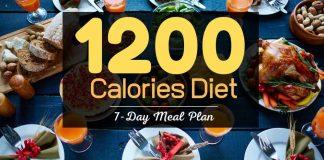 1200 calorie diet food list